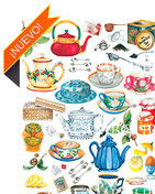 Papeles para decoupage soft y de arroz de temática cocina