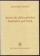 System der philoso-phischen Rechtslehre und Politik