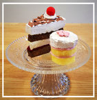 DIY: Kuchen aus Schwämmen