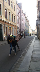 Street Art Tour in Dresden Neustadt in Bezug zur Graffiti- und MuralSzene
