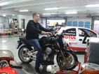 Motorrad-Rennsimulator