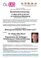 Bundeslehrer/innentag 2018