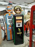 Mobil Gas Tanksäule Tankstelle Globe Deko Tankstelle Garage
