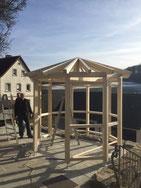 Zehneckiger Pavillon
