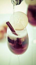 Sangria de Sidra y Champagne