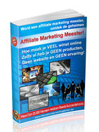 Ebook affiliate marketing meester