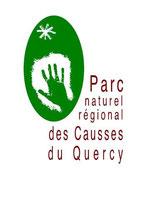 logo parc naturel des causses du Quercy dans le Lot 46