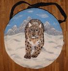 Trommeltasche, Schamanentrommel, Leopard
