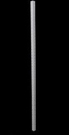 poste metalico para anaquel 1.80m altura