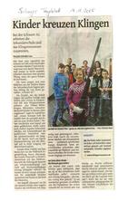 Solinger Tageblatt 14.11.15