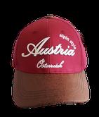 Kappe Austria, original Fashion, weinrot