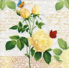 Servilletas para decoupage con preciosos diseños de rosas