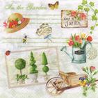 Servilletas para decoupage decoradas con preciosos diseños de flores