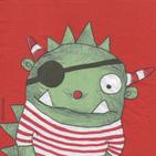 Servilletas para decoupage con piratas