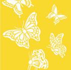 Plantillas o stencils con motivos de animales para estarcir