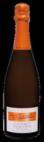 Champagne Dravigny, cuvée L'esprit Meunier.