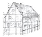 Wenn Sie zufrieden mit dem Angebot sind, kann Gerüstbau Martin an Ihrer Brücke, Haus, Halle oder Industriegebäude  das Gerüst aufstellen.