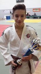 Justin Tremblay, première position U-18