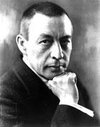 Sergei Rachmaninoff. Wikimedia Commons.