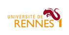 Logo et accès au site Web de l'Université de Rennes 1