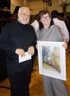 Andreas Jaksch mit Sylvia Steinhauer