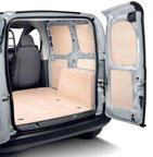 Habillage CP brut kit bois agencement véhicule utilitaire jod-aasc