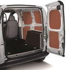 Habillage CP bouleau vernis kit bois agencement véhicule utilitaire jod-aasc