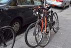 画像;自転車置き場