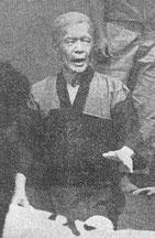 歌劇「沖縄」で、盛輝の役を演じる関忠亮氏
