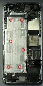 バッテリーの接箇所状況