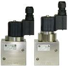 NO (normally open) Gasventil der Baureihe 135 bis 350 bar / NO (normally open) Series 135 solenoid valve for up to 350 bar