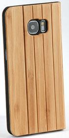 Galaxy s7 edge Hülle Holz Blau Bamus
