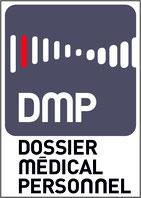 Logo DMP Dossier Médical Personnel