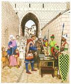 Le paiement de la rançon pour sortir de Jérusalem. Temple de Paris