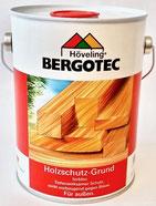 Bergotec Holzschutz-Grund - Grundierung/Imprägnierung - Anwendung vor Neu-oder Renovierungsanstrichen