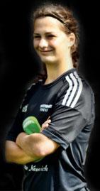 Erstes Tor im letzten Spiel: Luise Hertel