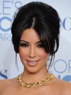 Kim Kardashian, Lune/Poissons opposée à Vénus/Vierge.