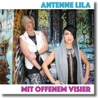 ANTENNE LILA - Mit offenem Visier