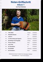 Notenheft Kurt Schmid - Schwyzerörgeli lernen - örgeli-studio Schwyz