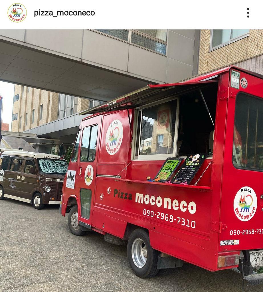 Pizza moconeco  ケータリングカー