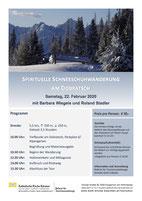 Schneeschuhwanderung Winterwanderung Dobratsch TrailAdventure Kärnten Barbara Wiegele Spirituell