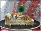 recette dessert noel et du nouvel an la torche aux marrons