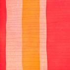 Monika Humm Radierung in Rottönen aus der Serie Aran