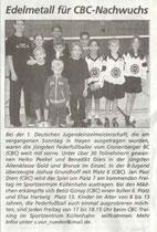 Cronenberger Woche Bericht vom 06.12.2003