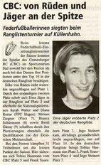Cronenberger Woche Bericht vom 25.06.2004