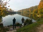 Wunderschöner Herbst....aktiv Fischen sieht jedoch anders aus ;-)