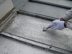 屋根塗装:ケレン作業