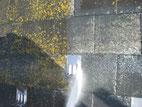 屋根塗装(遮熱塗料):高圧洗浄