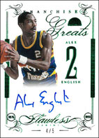 ALEX ENGLISH / Greats - No. FG-AE  (#d 4/5)