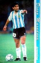 アルゼンチンをひきいたマラドーナ!